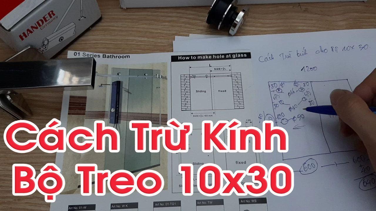 hưỡng dẫn cách trừ kính bộ phụ kiện treo 10x30