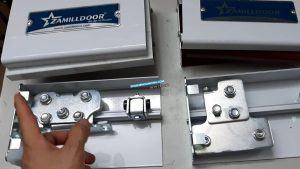 Zamilldoor Thay đổi mẫu Ray Trượt hệ Kẹp Không Khoan Kính